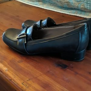 Life Stride Shoes - WORN ONCE chunky heel loafers